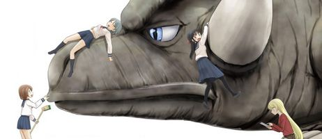 Les Dresseuses de monstres s'installent chez Komikku