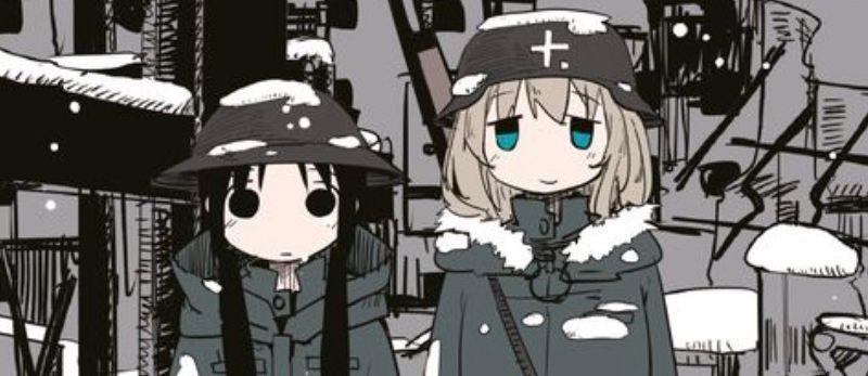 Le manga Girls' Last Tour annoncé par les éditions Omaké