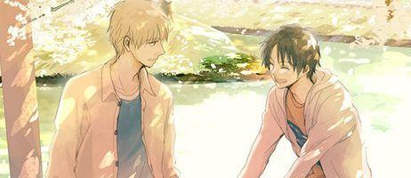 Retour de la série Hidamari ga kikoeru chez Boy's Love