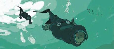 L'Homme de la mer émerge chez Pika