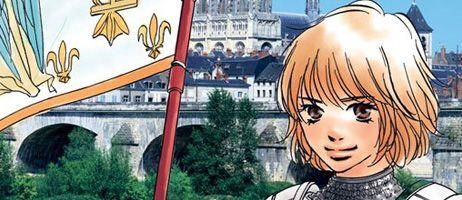Le manga Jeanne d'Arc de Chihiro Tamaki est sorti aux éditions Salvator