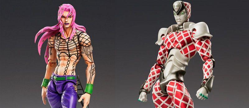 Diavolo et King Crimson de retour dans la gamme Super Action Statue