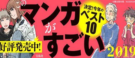 manga - Les résultats des Kono Manga ga Sugoi ! 2019 dévoilés