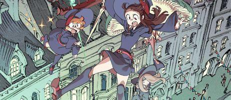 Little Witch Academia est disponible sur Netflix