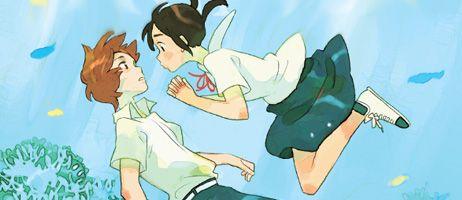 Mermaid Prince: le retour de Kaori Ozaki (Our summer Holiday) chez Delcourt/Tonkam
