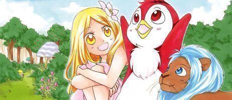 Faites-le plein de bonne humeur avec le manga Momo et le messager du Soleil chez Ki-oon