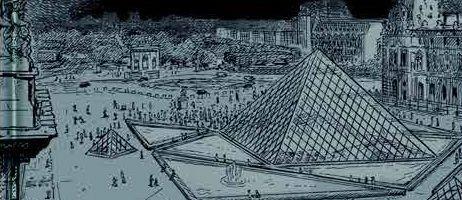 Li Chi Tak s'offre le Louvre via les éditions Futuropolis