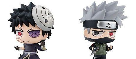 manga - Kakashi et Obito réunis dans la gamme Chimi Mega Buddy!