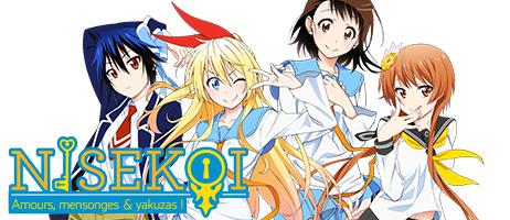 La saison 2 de Nisekoi en DVD et Blu-ray chez Kazé