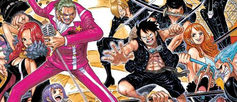 L'anime comics One Piece Gold chez Glénat