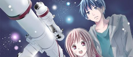 Le manga Par-delà les étoiles de Rie Aruga arrive en version papier chez Akata