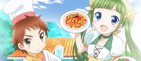 La série animée Piacevole – My Italian Cooking sur Crunchyroll
