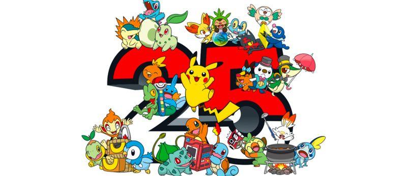 manga - Un programme chargé pour les 25 ans de Pokémon