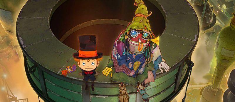 manga - Un teaser et de nouvelles infos sur le film d'animation Poupelle et la ville sans ciel