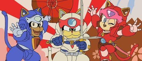 La série Samourai Pizza Cats rejoint le catalogue d'ADN