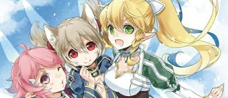 Les filles de Sword Art Online à l'honneur chez Ototo Manga avec Girls' Ops