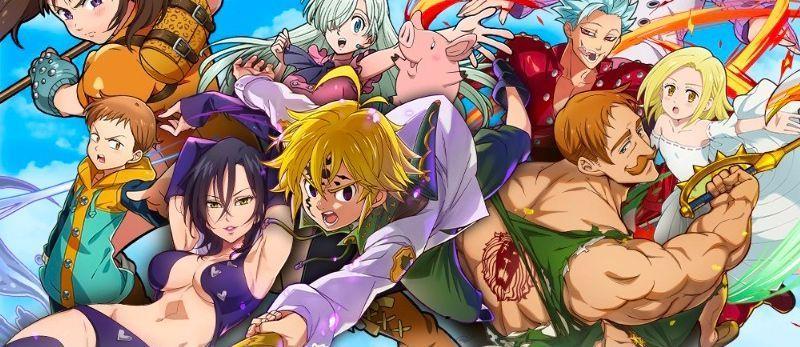manga - La série animée Seven Deadly sins diffusée sur Game One