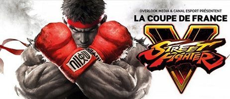 Concours : Coupe de France Street Fighter V