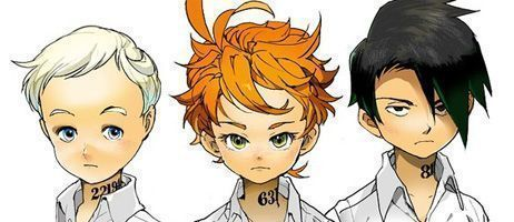 The Promised Neverland sera diffusé en France sur Wakanim