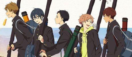 L'anime Tsurune en simulcast sur Crunchyroll