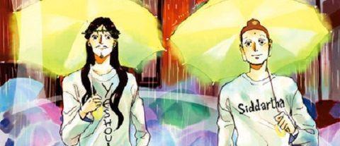 manga - Un épisode tout en VR pour le drama Les Vacances de Jésus et Bouddha
