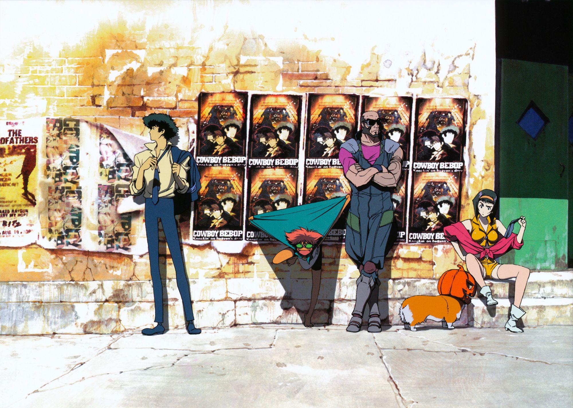 Cowboy bebop anime visual 1