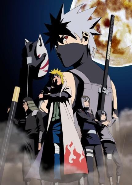 Naruto shippuden anime visual 1