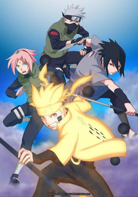 Naruto shippuden anime visual 2