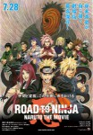 Naruto the movie road to ninja affiche jp