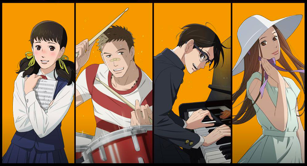 Kids on the Slope anime visual 1