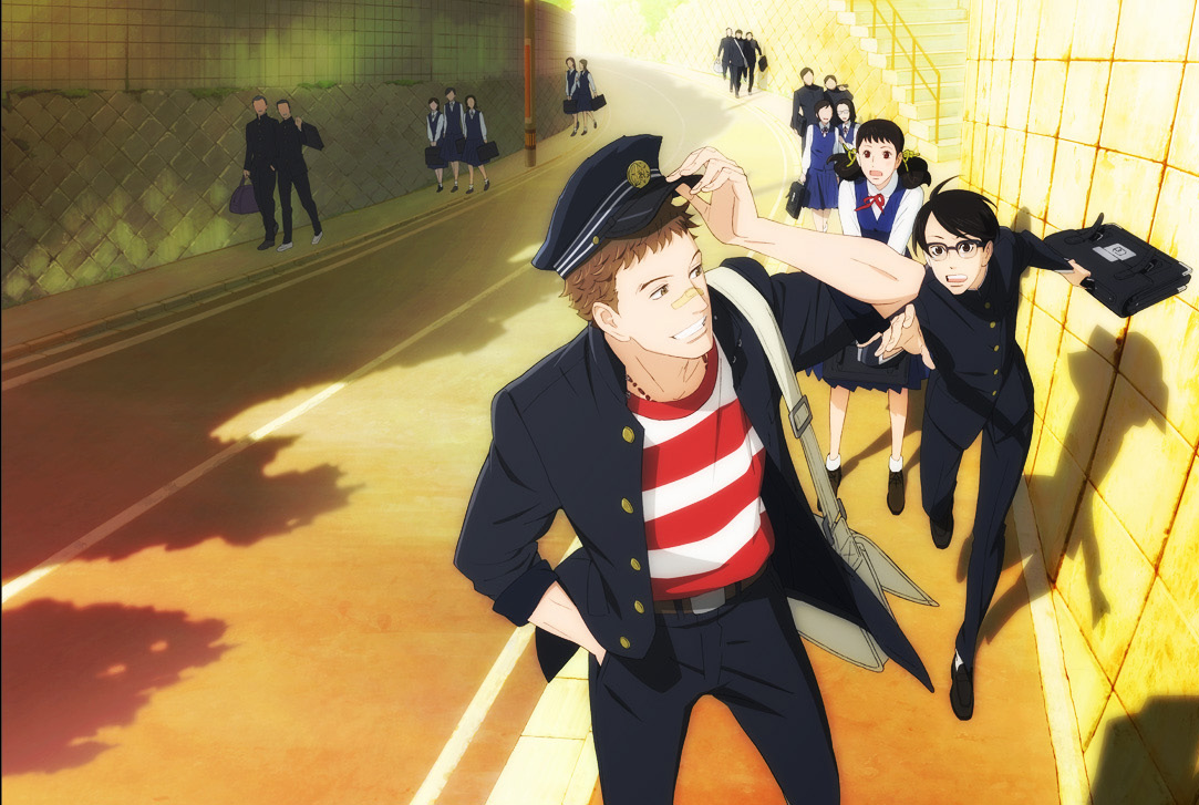 Kids on the slope anime visual 2