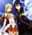 Sword art on line anime visual 1