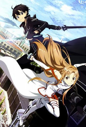 Sword art on line anime visual 2