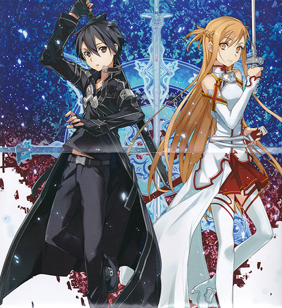 Sword art on line anime visual 3