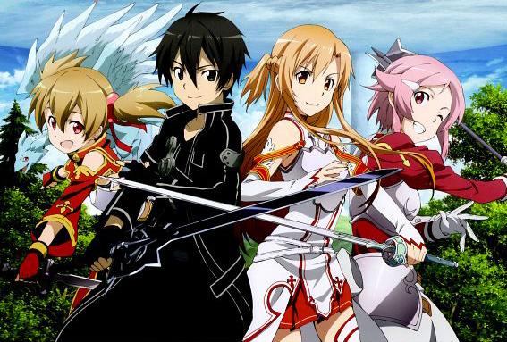 Sword art on line anime visual 4