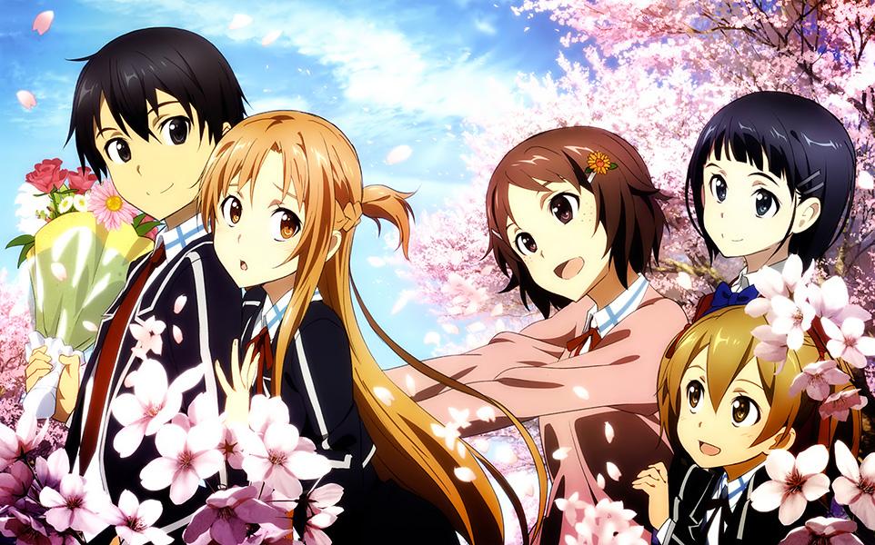 Sword art on line anime visual 5