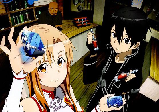 Sword art on line anime visual 8