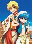 Magi anime saison 1 visual 1