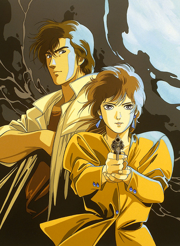 City Hunter illustration anime 2