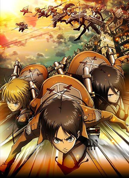 Attaque des titans anime visual 1