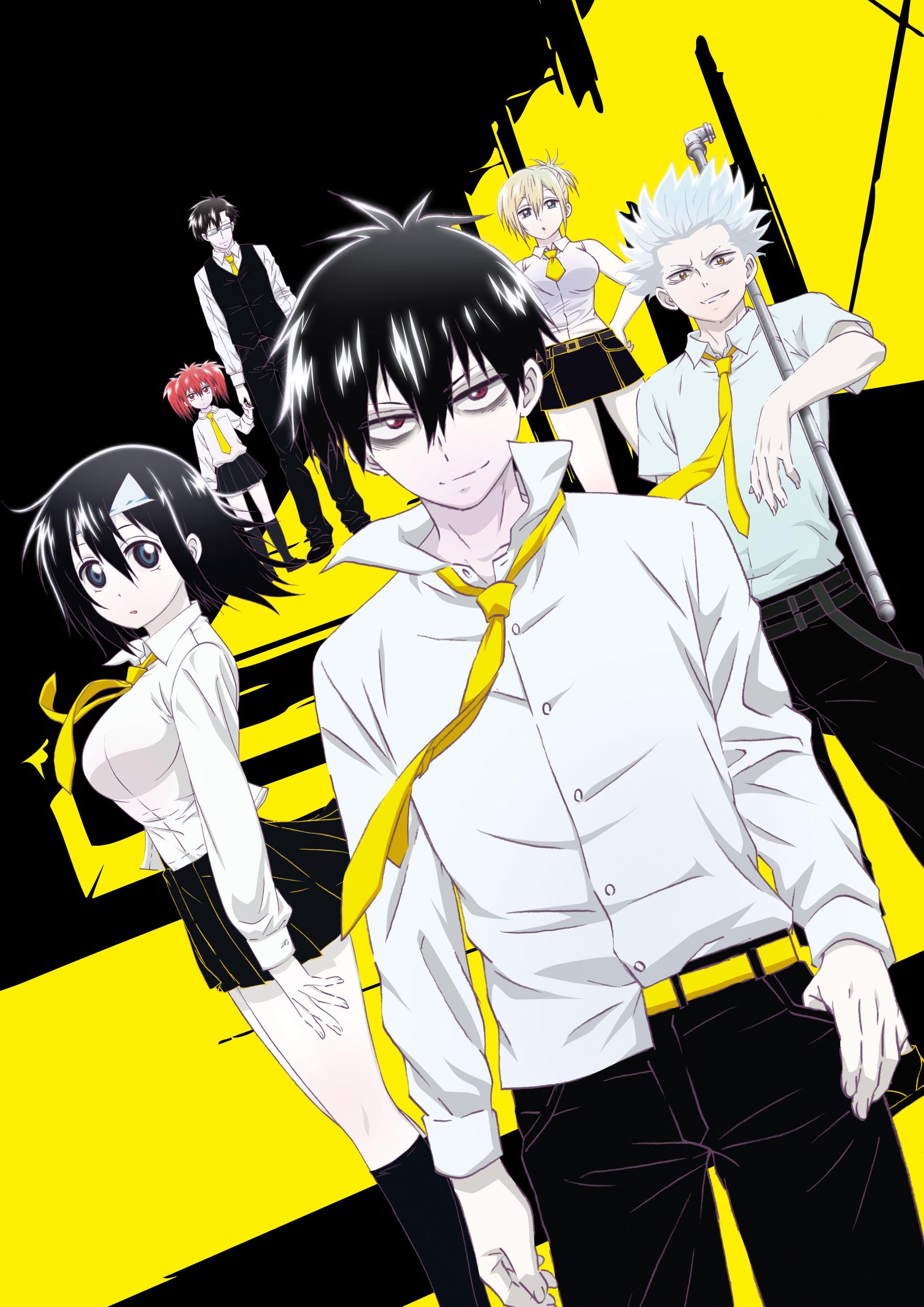 Blood lad anime visual 1