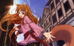 Spice wolf anime visual 1