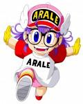 Arale anime visual 1