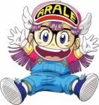 Arale anime visual 3