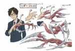 Parasite anime characters 1