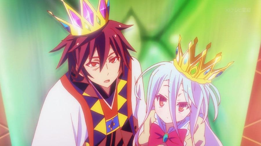 No Game No Life anime screen 1