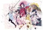 Hanayamata anime visual 1