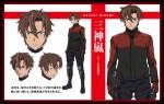 Triage x anime characters arashi
