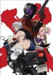 Triage x anime visual 1