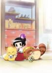 Gugure kokkuri san anime visual 1